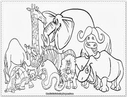 Zoo Animal Coloring Pages Best For Kids Free Jungle Pictures Biggest