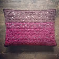 Free Crochet Pillow Patterns Awesome Cascading Hearts Pillow Free Crochet Pattern ⋆ Crochet Kingdom