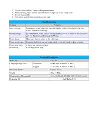 Yqk 70 Die Chart Yqk Series Hydraulic Crimping Tool Evsource Com The
