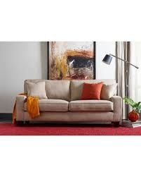 73 inch sofa. Wonderful Inch Truly Home Andrew Sand Brown 73inch Sofa Intended 73 Inch N