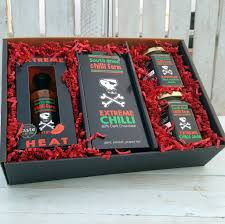 extreme chilli gift set by south devon chilli farm notonthehighstreet