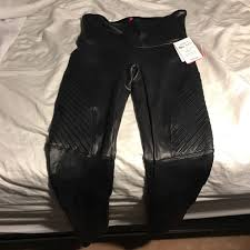 spanx faux leather moto leggings never been worn