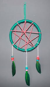Ideas For Making Dream Catchers Much better way of making a dream catcher with natural materials 83