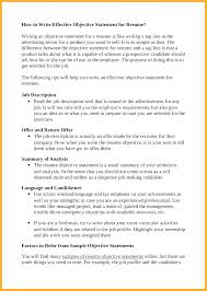 Strong Objective Statements For Resume Objective Statements For Resume Career Objective Statements For 89