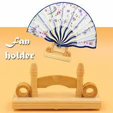 Japanese Fan Display Stand 100cm Chinese Japanese Foldable Fan Display Holder Base Stand Knot 20