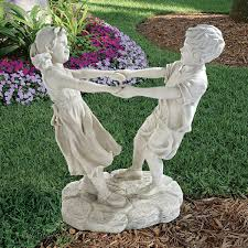 children garden statues. Children Garden Statues