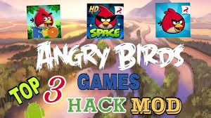 Top 3 Angry birds and Angry birds rio and Angry birds spase mod & unlimi...