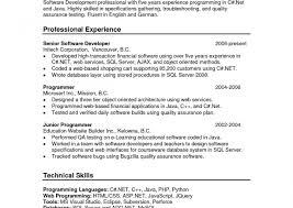 Experience Java Resume Resume Sample Format For Experienced Java Developer J24eers Years 22
