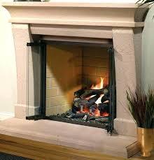 gas fireplace glass doors best