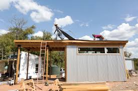 tiny house community austin. Construction In Austin\u0027s Tiny Home Community. House Community Austin