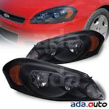 2006-2013 Chevy Impala/2006-2007 Monte Carlo Black Headlights ...