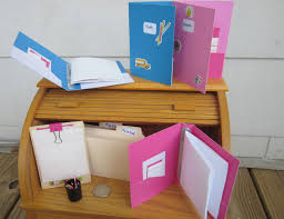 photo 8 of 9 desk for american girl doll photo 8 american girly diy school supplies