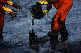 the chennai oil spill a lesson for s maritime agencies  the great chennai oil spill clean up