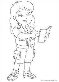 Character Coloring Pages New Cartoon Character Coloring Sheets