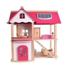 large wooden dolls house furniture doll dollhouse handmade houses kits model toys for children birthday gift