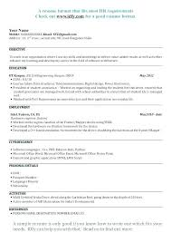 It Fresher Resume Format Download Classy Civil Engineering Student Resume Format Download Fresher Formats
