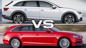 Audi A4 Allroad Quattro vs Audi A4 Avant - YouTube