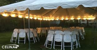 globe lights for outdoor parties and events