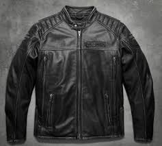 mens midway distressed leather jacket