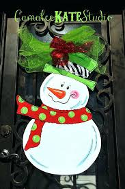 zebra snowman holiday wooden door hanger personalized free how to make burlap hangers