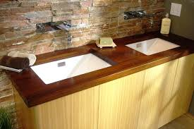 wood bathroom vanity top natural wood vanity tops best finish for wood bathroom vanity top
