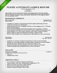 Bilingual Flight Attendant Sample Resume Magnificent Flight Attendant Resume Expert Demoexat