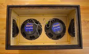 Custom Guitar Speaker Cabinets Custom Guitar Cabinet Pete Adam Bialecki
