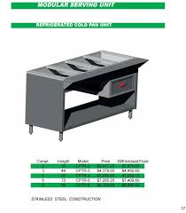 refrigerated sandwich cold food prep table salad bar 1460