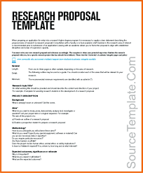 Research Paper Project Proposal Sample Pdf Example Ppt
