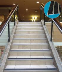 exterior stair treads and nosings. stair treads are the full horizontal surface that a person steps upon while nosing is leading edge of tread. exterior and nosings