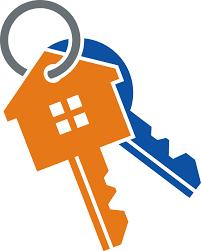 Gold House Key Golden Home Shape End 33814116 Clipart Keys Yanhe