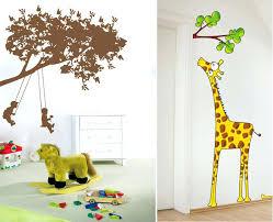 giraffe wall decor trees and giraffe wall sticker decor elephant and giraffe nursery wall decor