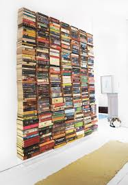 Upcycled Wall Art Upcycled Book Wall Totally Green Crafts