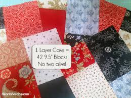 Double Sliced Layer Cake Quilt Tutorial - Heart at Home : Heart at ... & double_layer_cake_quil_step5 Adamdwight.com