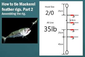 Homemade Fishing Lure Blog How To Tie Mackerel Feather Rigs