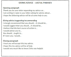 Tips For Asking For A Letter Of Recommendation Formal Letters And Emails Giving And Requesting Advice
