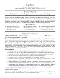 Production Resume Template Best Product Manufacturing Resume Example
