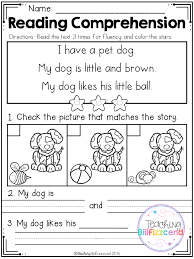 FREE Reading Comprehension SET 2 - Beginning Readers | Free ...
