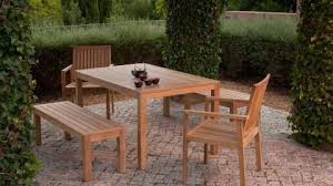 how to clean wooden outdoor furniture