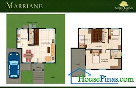 glamorous modern house design with floor plan in the philippines