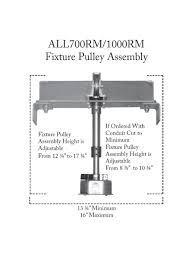 aladdin light lift all700rm cm n a commercial grade 700lb remote mount motorized light fixture lift system lightingshowplace com