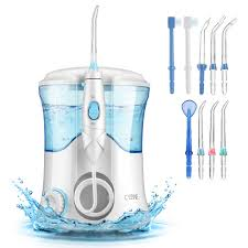 H2ofloss Quiet Design Cozzine Water Dental Flosser 600ml Water Pick Large