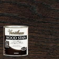 Rustoleum Driftwood Stain Varathane 1 Qt Kona Premium Wood Stain 266161 The Home Depot
