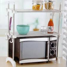 Kitchen Racks Stainless Steel Buy Kawachi Kitchen Microwave Oven Racks Double Bowl Stainless