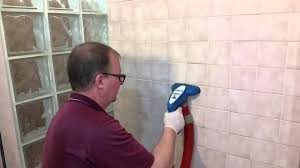 how we professionally clean tile and grout that has soap s mildew and mold you