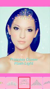 screenshot 4 for beauty princess selfie camera real time face makeup