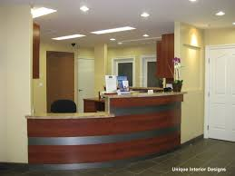 office reception interior. front desk reception area medical office interiormedical interior