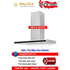 Máy hút mùi nhà bếp dạng phẳng 90cm Malloca ZETA K1573 nhập khẩu Thổ Nhĩ Kỳ