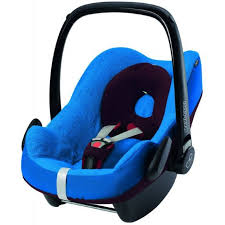 maxi cosi pebble plus baby car seat summer cover blue