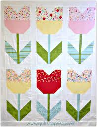 135 best Tulip quilts images on Pinterest | Quilt block patterns ... & Tulip Quilt Tutorial Adamdwight.com